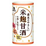森永製菓 甘酒 森永のやさしい米麹甘酒 125ml×30本