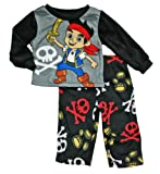 Jake and the Never Land Pirates Baby & Toddler Boys Fleece Pajama Set
