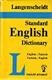 img - for Langenscheidt Standard English-Turkish, Turkish English Dictionary book / textbook / text book