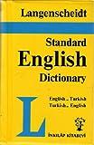 img - for Langenscheidt Standard English-Turkish, Turkish English Dictionary book / textbook / text book