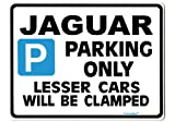 JAGUAR Car Parking Sign Gift for s e type x xj xk v8 v6 3.0 models - Size Large 205 x 270mm