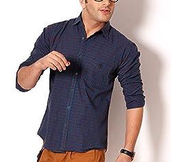 SPEAK Trendy Blue with Red checks Dashing Shirt