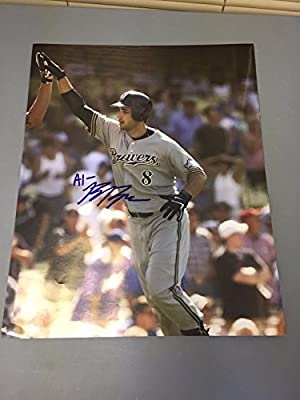 Ryan Braun Milwaukee Brewers Signed Autographed 16x20 Photo