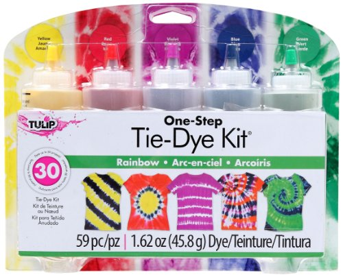 Tulip One-Step 5 Color Tie-Dye Kits Rainbow,1.62Oz front-872729
