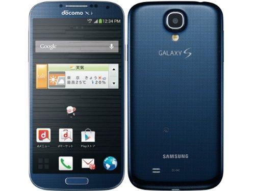 (docomo) GALAXY S4 SC-04E ブルー