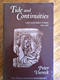 Tide and Continuities: Last and First Poems, 1995-1938