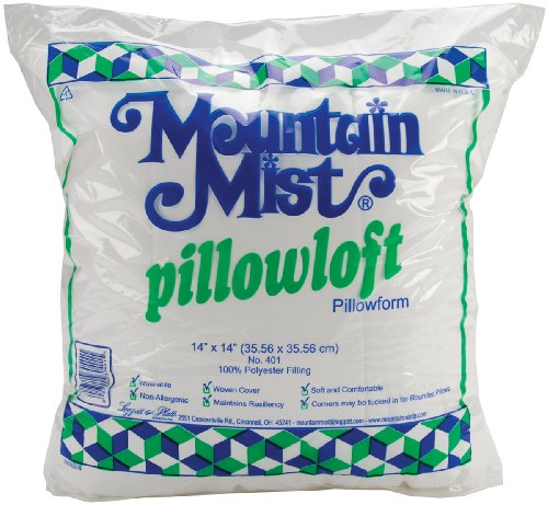 Fantastic Deal! Mountain Mist Pillowloft Pillowforms, 14-inch-by-14-inch