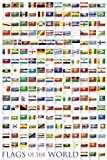 GB eye 61 x 91.5 cm Flags Of the World 2011 Maxi Poster, Assorted
