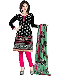 Latest Top 10 Collection Embroidered Black Chanderi Unstitched Branded Dress Materials With Dupatta for Ladies party Wear Low Price Best Seller Offers