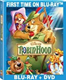 Robin Hood: 40th Anniversary Edition [Blu-ray + DVD] (Bilingual)