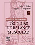 img - for DANIELS & WORTHINGAM. T cnicas de balance muscular: T cnicas de exploraci n manual y pruebas funcionales, 7e (Daniels & Worthington's Muscle Testing (Hislop)) (Spanish Edition) book / textbook / text book