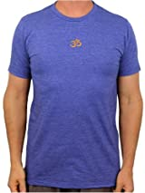 Embroidered Aum (Om) Mens Recycled T-shirt