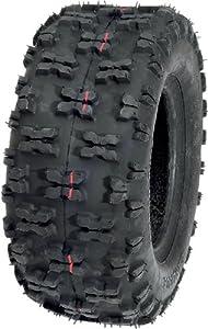 Carlisle Holeshot Tire - Rear - 18x6.50x8 , Position: Rear, Tire Size: 18x6.5x8, Rim Size: 8, Tire Ply: 2, Tire Type: ATV/UTV, Tire Application: Sport, Tire Construction: Bias 5170101