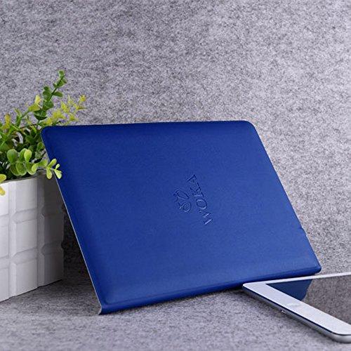 WOKA ワイヤレスBluetoothキーボード ウルトラスリム 折りたたみPUレザーケースカバー付き for iPad Air 2  Other 9.7'' Laptop Tablet Table PC並行輸入品