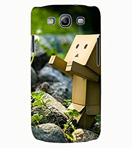 ColourCraft Funny and Creative Design Back Case Cover for SAMSUNG GALAXY S3 NEO I9300I