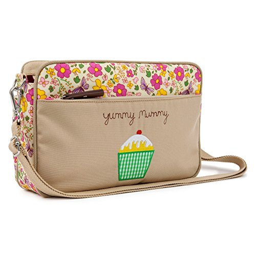 Pink Lining Mini Yummy Mummy Cottage Garden Bag, Multicoloured
