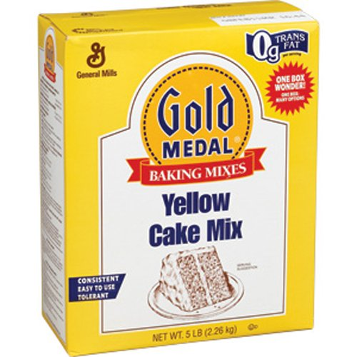 Gold Medal Yellow Cake Mix, 5-Pound