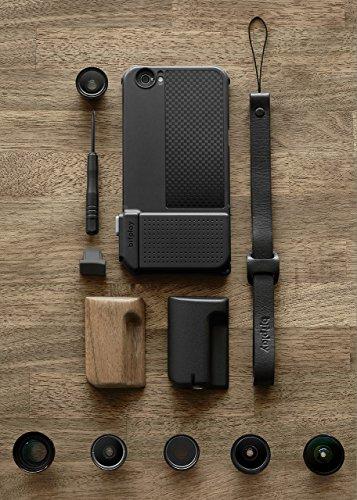 【国内正規品】bitplay SNAP! PRO 物理シャッターボタン搭載iPhone6/6s用ケース(All-in-One) (ブラック)