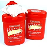 2 Connoisseurs Jewelry Wipes 50 Wipes