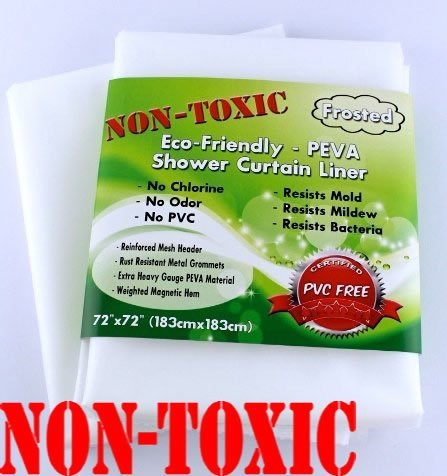 non-toxic-eco-friendly-peva-shower-curtain-liner-frosted-mildew-resistant-heavy-duty-magnetic-weight