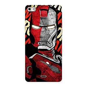 Introduction Man Back Case Cover for Micromax Canvas Silver 5