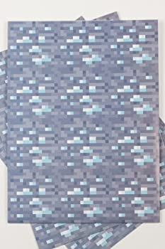 Minecraft Diamond Wrapping Paper by Jinx