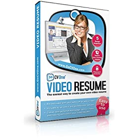 CV One Video Resume Software - Create Your Online Video Job Application