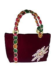 Arisha Kreation Co Women's Handbag (Maroon )