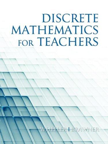 Discrete Mathematics for Teachers (PB)