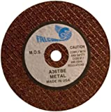 Falcon A36TBE Resinoid Bonded Double Reinforced Abrasive Cut-off Wheel, Type 1, Aluminum Oxide