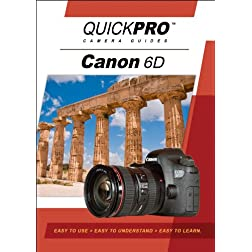 Canon 6D Instructional DVD by QuickPro Camera Guides