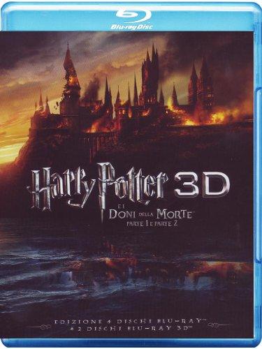 Harry Potter und die Heiligtümer des Todes, Teil 1 und 2 (2D+3D) [Blu-ray] [IT Import]
