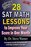 28 SAT Math Lesson - to Improve Your Score in One Month