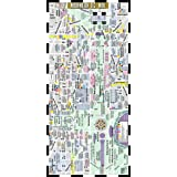 Streetwise Washington DC Metro Map Laminated Washington DC Metrorail Map Folding pocket   wallet size metro map for travel