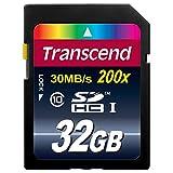 """Transcend Extreme-Speed SDHC 32GB Class 10 Speicherkarte (bis 20MB/s Lesen)von """"Transcend"""""""
