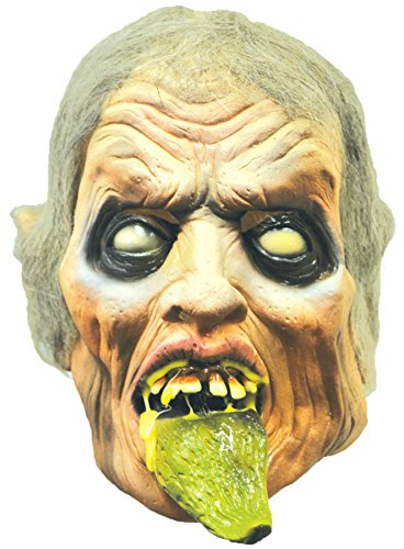 Frightmare Distortions Zombie Ghoul Horror Latex Adult Halloween Costume Mask