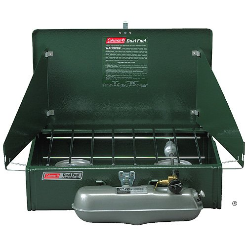Coleman Company 3000000788 &#8220;2-Burner&#8221; Liquid Fuel Stove With Dual Fuel Technology