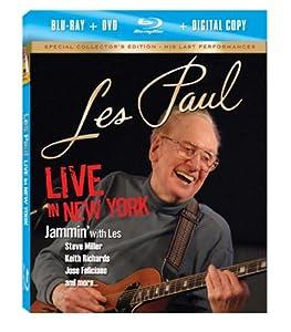 Les Paul: Live in New York (Blu-ray/ DVD Combo + Digital Copy)