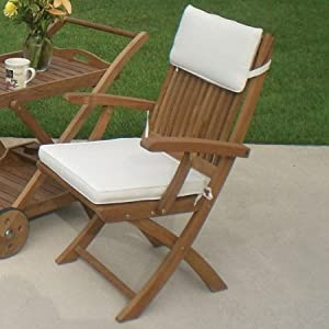 Royal Teak SFC Sailor Folding Chair with Arm