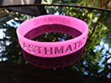 Asthma Asthmatic Band Wristband/Bracelet Pink (Child) (TERO0190)