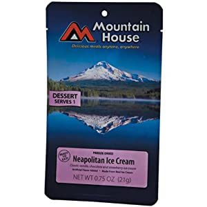 Mountain House Neapolitan Ice Cream Bar - Pack Of Six