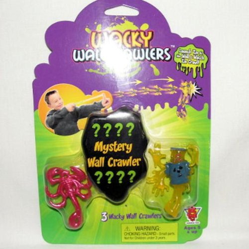 Sticky Wall Crawler Tumbler Man Toy - 1