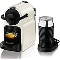 Nespresso Inissia Coffee Capsule Machine with Aeroccino3  by KRUPS, White