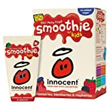Innocent Kids Strawberry, Blackberry & Raspberry Smoothies 4x4x180ml