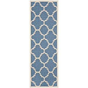 Amazon Safavieh Courtyard Collection CY6243 243 Blue
