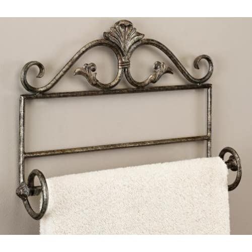 Amazon.com - Karlee Wall Hanging Towel Rack / Towel Bar