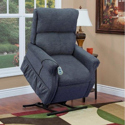 1100 Series Medium 2 Position Lift Chair Moveable Infrared Heat: No Upholstery: Bella Crypton - Toffee