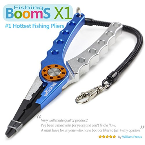 Booms fishing x1 unbreakable aluminium pliers for for Saltwater fishing pliers
