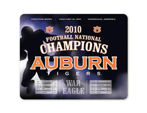 NCAA Auburn Tigers National Champions Schedule Full Color Print Deskpad