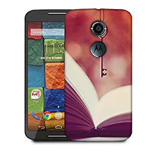 Snoogg Reading Is The Key Designer Protective Phone Back Case Cover For Moto X 2nd Generation